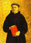 Augustinian Saint. Panel of the Sant'Agostino altarpiece.