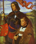Portrait of Francis de Chateaubriand Presented by St. Maurice.