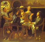 The Supper at Emmaus.