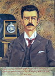 Portrait of Don Guillermo Kahlo.