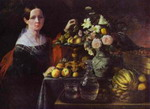 Portrait of an Unknown Woman with Fruit.
