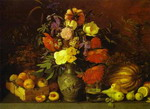 Still-Life. Flowers and Fruit.
