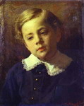 Portrait of Sergey Kramskoy, the Artist's Son, as a Child.