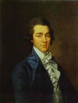 Portrait of Nikolay Lvov, Architect, Painter and Poet.