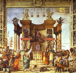 Life of St. Philip: St. Philip Exorcising in the Temple of Hieropolis.