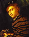 Portrait of a Young Man with a Book.