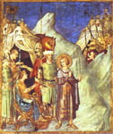 St. Martin  Renounces of Arms.