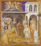 Death of St. Martin.