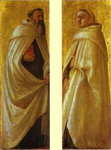 Two Carmelite Saints. Panels from the Pisa Altar.