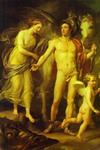 Perseus and Andromeda.