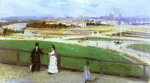 View of Paris from the Trocadero.