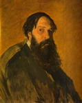 Portrait of the Painter Alexey Savrasov.