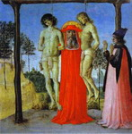 St. Jerome Supporting Two Men on the Gallows.