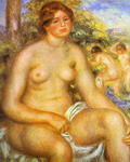 Seated Bather.