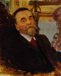 Portrait of Ivan Zvetkov.