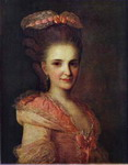 Portrait of an Unknown Lady in a Pink Dress