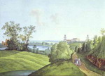 View of the Farmyard in the Tsarskoye Selo.