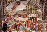 The Deeds of the Antichrist. Fresco.