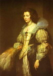 Portrait of Maria Louisa de Tassis.
