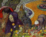 Ladies of Arles (Reminiscence of the Garden at Etten).
