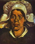 A Peasant Woman in White Cap.