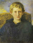 Portrait of Boris Vasnetsov, the Artist's Son