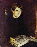 Portrait of Michael Vasnetsov, the Artist's Son.