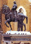 Equestrian Monument of Colleoni.