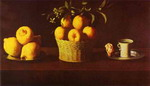 Still Life with Lemons, Oranges and Rose.