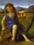The Infant Bacchus.