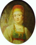 Christina, the Peasant Woman from Torzhok.