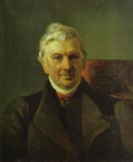 Portrait of the Professor of the Moscow Medical Academy K. A. Janish.
