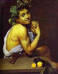 Self-Portrait as Sick Bacchus.