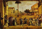 Funeral of St. Jerome.