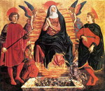 The Assumption of the Virgin with SS. Julian and Miniato.