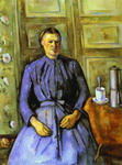 Woman with Coffee Pot.