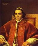 Portrait of Pope Pius VII.