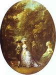 Portrait of Henry, Duke of Cumberland, with the Duchess of Cumberland and Lady Elizabeth Luttrell.
