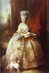 Portrait of Queen Charlotte.