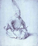 A Turkish Janissary.