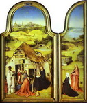 Epiphany Triptych. Left wing