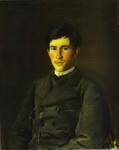 Portrait of Piotr Gay, the Artist's Son.