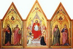 Stefaneschi Polyptych. Side showing St. Peter.