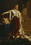 Napoleon in Coronation Robes.