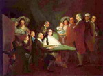 The Family of the Infante Don Luis de Borb�n.