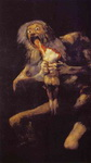 Saturn Devouring One of His Children.