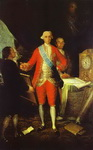 The Count of Floridablanca and Goya.