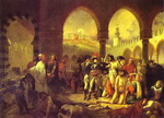 Bonaparte Visiting the Plague-Striken at Jaffa on 11 March 1799