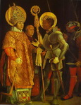 The Meeting of St. Erasmus and St. Maurice.