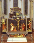 General view of the Isenheim Altar.